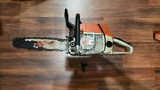 Stihl 038 Av Super Electronic Quickstop Chainsaw For Parts Repair