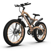 Aostirmotor 26 1500w Electric Bike Fat Tire 48v 15ah Removable Lithium Battery