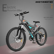 Aostirmotor 26 500w Electric Bike Fat Tire P7 48v 15ah Removable Lithiumbattery