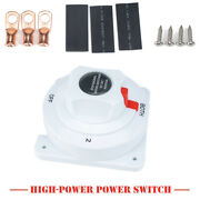 4-speed 6-36v Dual Battery Selector Switch Disconnect Power Cut Off On Rv Marine