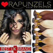 Remy 20 Pre Bonded Stick Tip, I Tip Micro Ring Human Hair Extensions Rapunzels