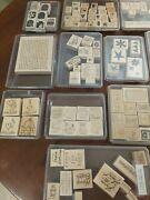 Stampin Up Lot Of 13 Stamp Sets Tags Words