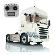1/14 4x4 Metal Chassis Rc Tractor Truck Hercules R730 Cab Radio Sound For Scania