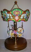 4 Horse Tobin Fraley Limited Edition 0338 American Carousel Lefton China