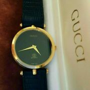 Menand039s Stack Watch Black And Gold Needs Repair