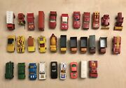Lot Of 31 Vintage Matchbox Cars From 1960's And 1970's
