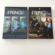 Fringe The Complete Season 1 And 2 Dvd Box Sets, Lenticular Cover Near Mint Show
