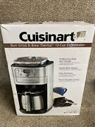 Cuisinart 12 Cup Grind And Brew Coffee Maker Dgb-900bc Dgb900bcc Brushed Chrome