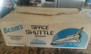 Vintage Jim Beam Whiskey Decanter Space Shuttle Rare Collectible