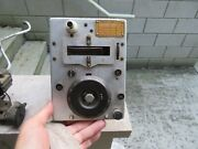 Vintage U.s. Army Signal Corps Radio Transmitter Bc-457-a Western Electric Wwii