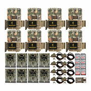 Browning Trail Cameras Recon Force Edge Trail Camera 8 Pk With Security Bundle