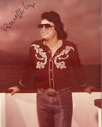Ronnie Milsap Signed 8x10 Photo..country Music Legend..in Person