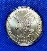 2021 American Silver Eagle Type T2 Uncirculated High Luster Brite White