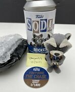 Funko Soda Open Chase Flocked Rocket 2021 Fall Convention Free Shipping