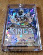 Jaand039marr Chase Leaf Metal Draft Touchdown Kings Autograph Blue Crystal 5/25