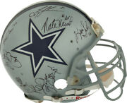 Dallas Cowboys - Helmet Signed With Co-signers