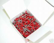 50 Boxes Of Pop Rivets,black,blue,red,white,mill,and More
