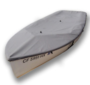 Vagabond 14 Sailboat - Boat Deck Cover - Polyester Charcoal Gray Top Cover