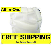 Motherease All-in-one Cloth Diapers New Mother Ease Aio