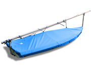 Laser Ii Sailboat Deck Cover - Sunbrella Pacific Blue Top Cover - Made In Usa