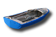 Daysailer Sailboat - Hull Cover For Oand039day Ds-1 And Ds-2 - Sunbrella Pacific Blue