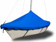 Boat Mast Up Peaked Cover To Fit Hobie One 14 Sailboat - Polyester Royal Blue