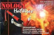 Nology Red Hotwires Spark Plug Hot Wires Set For Toyota Supra Non Turbo 86-92