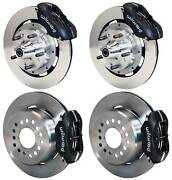 Wilwood Disc Brake Kitfront And Rear65-69 Mustangblack