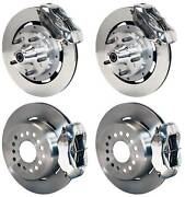 Wilwood Disc Brake Kitcomplete64-72 Chevelle12 Rotorspolished Calipers