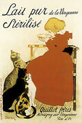 French Bakery Poster.girl N Cats.decor.art Nouveau House Interior Design.177