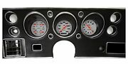 Classic Instruments 1970 Chevelle Malibu Ss Cluster Velocity White Series Gauges
