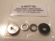 Ford 1928-1932 Pass And 1928-1934 Pickup Windshield Windscreen Slide Arm Washers