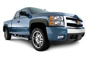 Oe Style Fender Flares 07-13 Chevy Silverado Reg/extend Long/std 6.5 8and039ft Bed