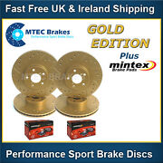 Golf Mk4 R32 Audi Tt 3.2 Roadster Front Rear Brake Discs Gold Edition And Pads
