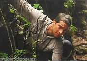 Bear Grylls Signed Autograph 3x5 Photo Man Vs Wild Discovery Channel Psa/dna