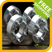 4 Jeep Wrangler Wheel Spacers Adapters Fits All Tj Yj 2 Inch