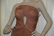 6700 New Roberto Cavalli Couture Sexy Cut Out Princess Gown Dress 40