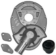 Kse Water Pump And Sbc Front Cover W/1 Short And 1 Long,alum Drive,sprint Car,midget