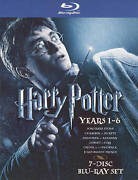 Harry Potter Years 1 To 6 Blu-ray Disc, 2009, 7-disc Set, Ws