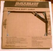 New Quicksilver Marine Pt 897977a36 Throttle And Shift Cable 36and039 Gen 1 Premium