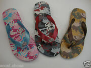 Red By Marc Ecko Dustine Flip Flops Girland039s Red Blackturquoise Pink Khaki Bronze
