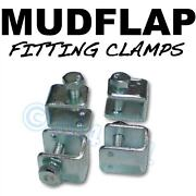 Mud Flap Mudflap Fitting Fixing U Clamps X4 - For Ford