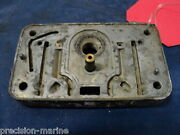 34r-7248-a Primary Metering Body And Plug Assy 1976 Omc 235hp 990241m
