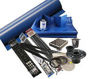 Composeal Quick Pitch And Royal Square Drain Complete Shower Kit