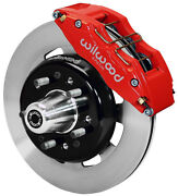 Wilwood Disc Brake Kitfront55-57 Chevy12 Rotors6 Piston Red Calipers
