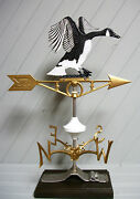 Canadian Goose Weather Vane Geese Snow Hunting Lodge Cabin Canada 539