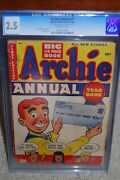 Archie Annual 1 Cgc 2.5 1950 Hard To Find Book B12 191 Cm