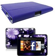 Genuine Leather Case Cover For Kindle Fire Hd 7 Inch + Skin Accessory P02