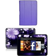 Genuine Leather Case Cover For Kindle Fire Hd 8.9 Inch+skin Accessory P01
