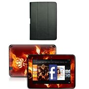 Genuine Leather Case Cover For Kindle Fire Hd 8.9 Inch+skin Accessory B03